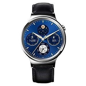 "Huawei Watch Classic - Smartwatch Android (1.4"", 4 GB, 512 MB RAM, correa de cuero), color gris"