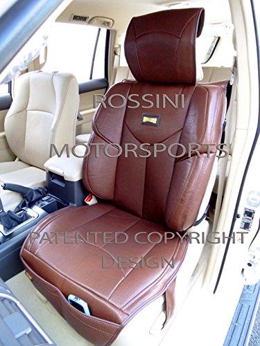 Preisvergleich Produktbild BMW 5Series/7Series ymdx 02PVC braun Kunstleder Rossini Motorsports Auto Kissen