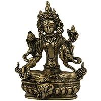 Meditare Buddha Statue da collezione Figure in metallo Craft l