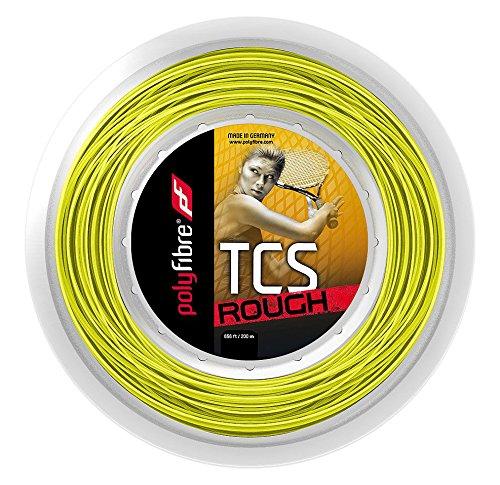 Profil aus polyfaser; TCS Rough 200m Neonyellow 1,3mm String Reel-Gelb