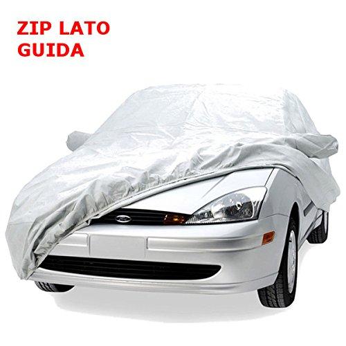 PE Auto Schutzfolie Vollgarage Wasserdicht Autoplane Ganzgarage Auto Größe S