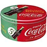 Nostalgic-Art 30603 Coca-Cola - Delicious Refreshing Green, Vorratsdose Rund L