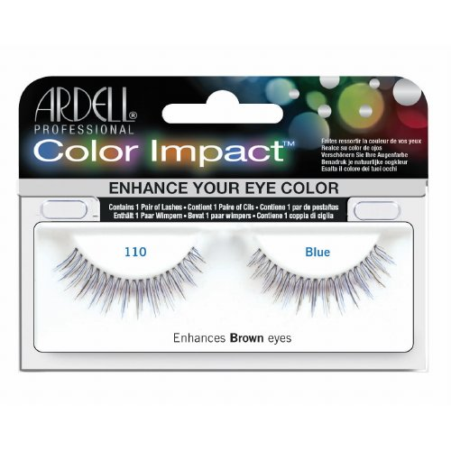 (3 Pack) ARDELL Color Impact False Lashes - Blue 110