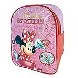 Disney Official Minnie Mouse Junior Premium Backpack School Bag Rucksack