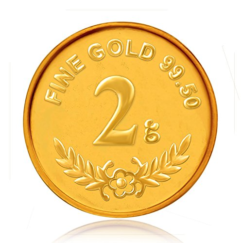 Senco Gold 2 gm, 24k Yellow Gold Precious Coin