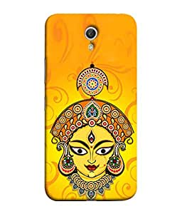 PrintVisa Designer Back Case Cover for Lenovo ZUK Z1 (God Prayer Lakshmi Durga loin)