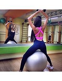 Vin beauty wlgreatsp Mujer Deportes Gimnasio Entrenamiento de Yoga Mediados de Cintura Correr Pantalones Fitness Elástico Leggings