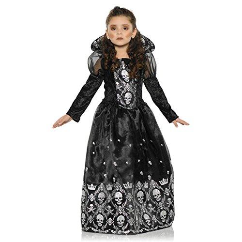 Prinzessin der Finsternis - Dark Princess- Kostüm Kinder Gr. (Halloween Princess Dark Kostüm)