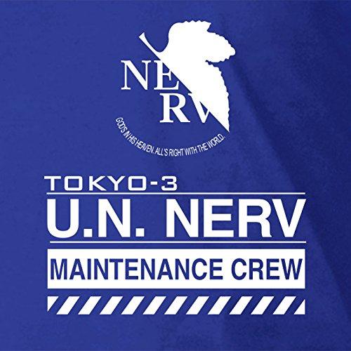 NERV Maintenance Crew - Stofftasche / Beutel Rot
