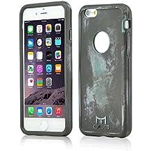 MOLS Apple iPhone Couverture Smartphone incl. Protecteur d'écran de ANTISHOCK (iPhone 6 Plus/ 6s Plus Blue)