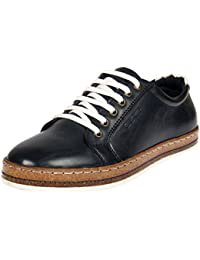 Duke Mens Navy Coloured Casual Shoes - B077YLJQX3