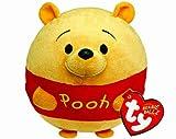 TY 58103 - Disney Ball - Winnie the Pooh Beanie Ballz mit Soundchip, Plüsch, Durchmesser 12 cm