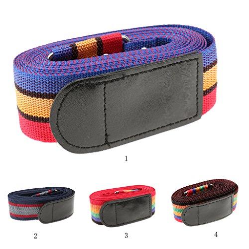 Sharplace Alta qualità Valigia Cintura Di Viaggio Bagagli Cinghia Fascia + Digitale Serratura Combinato - B