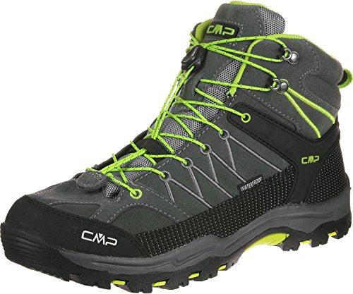 CMP F.lli Campagnolo Rigel Mid WP J chaussures randonnées enfants gris vert