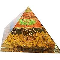Jesper orgainte Pyramide Heilung Kristalle Reiki organite Pyramide Reiki Spritual Geschenk mit Rot Geschenk Tasche preisvergleich bei billige-tabletten.eu