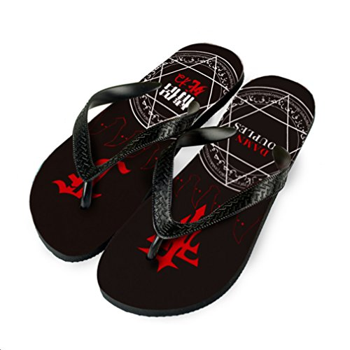 Bromeo Mihnah FFF Anime Unisexe Flip Flops Tongs 940