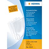 Herma 5022 Ausweissteckhüllen A6 transparent