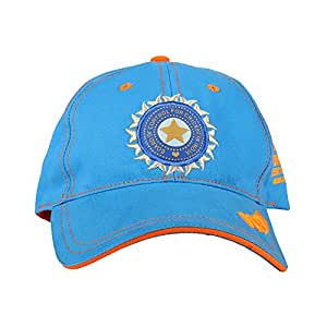 ICC World Twenty20 India 2016 - India Cotton Cap, Free Size (Blue)