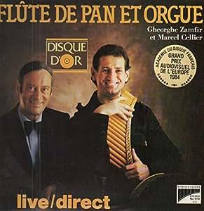 Flûte de pan et orgue-Live/direct-Disque D'Or (1983) / Vinyl record [Vinyl-LP]