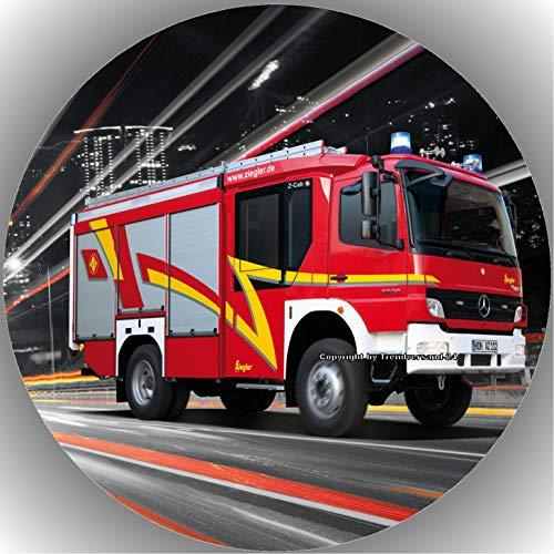 Premium Esspapier Tortenaufleger Feuerwehr T5