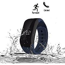 ROGUCI Bluetooth Smart Watch Inteligente Pulsera Fitness Brazalete Para Android IOS Iphone