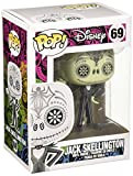 Funko Pop! - Nightmare Before Christmas-Day of The Dead Jack Skellington Vinyl: Disney: NBX Negro, Color Blanco (3657)