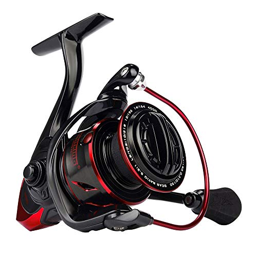 AFFC Innovadora Resistencia al Agua Spinning Reel 18KG MAX Drag Power Carrete de Pesca para Bass Pike Fishing,3000