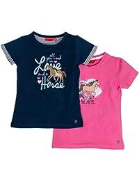 Salt & Pepper Multiset Horses 1, T-Shirt Fille