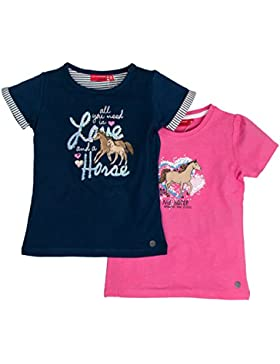 SALT AND PEPPER Mädchen Multiset T-Shirt Horses 1