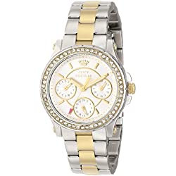 Juicy Couture Women's 1901107 Pedigree Multi-Eye Crystal Bezel Watch
