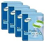 Tena Pants Plus, extra groß (XL) Schutzhosen für mittlere bis starke Blasenschwäche / Inkontinenz, 4er Pack (4 x 7 Stück)