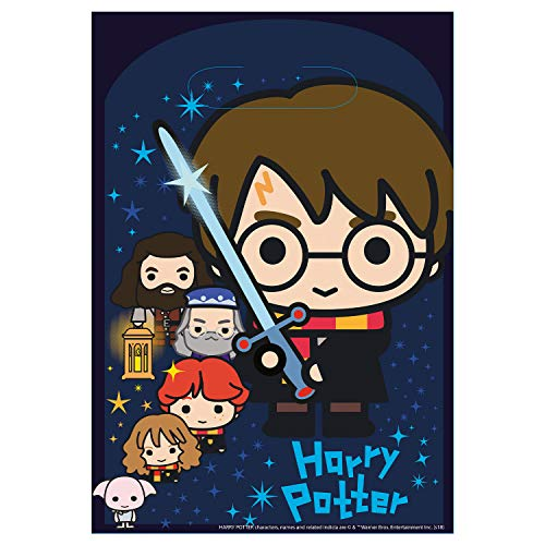 Amscan International 9905194 Harry Potter - Bolsa de plástico