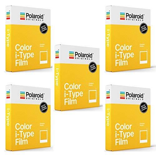 Film couleur standard Polaroid Originals pour appareils photo de type i (paquet de 5)
