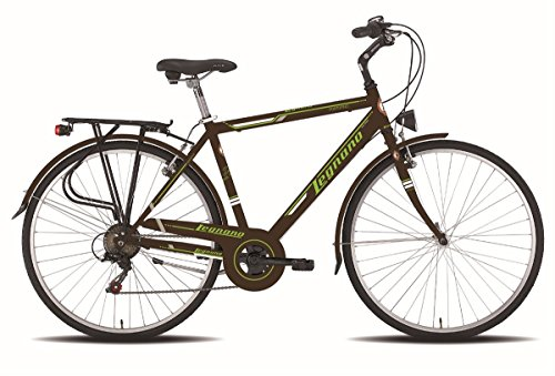 LEGNANO BICICLETA 480 PORTOFINO GENT 6 V TALLA 48 MARRON (CITY)/BICYCLE 480 PORTOFINO GENT 6S SIZE 48 BROWN (CITY)