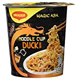 Maggi Magic Asia Noodle Cup Duck, 65 g Becher für 1 Portion