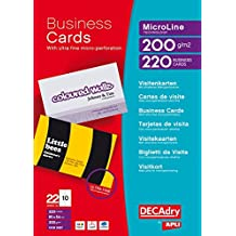 DECAdry T403327 business card - business cards