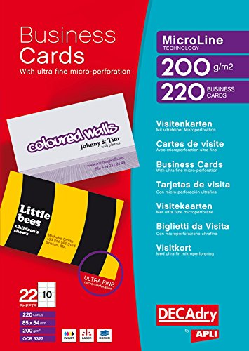 Decadry t403327 biglietto da visita