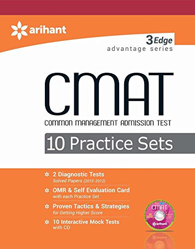 3 Edge Advantage Series - CMAT 10 Practice Sets