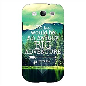 Printman Beautiful Wanderlust Adventure Travel Quote Colorful Back Cover For Samsung Galaxy Grand Duos I9082 - P103296