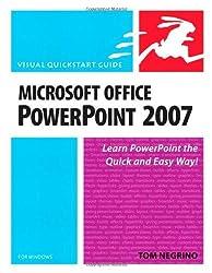 Microsoft Office PowerPoint 2007 for Windows: Visual QuickStart Guide (Visual QuickStart Guides) by Tom Negrino (2007-10-17)