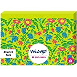 Pidilite Fevicryl Fabric & Multi-Surface 3D Outliners Assorted Colours Pack (10 U)