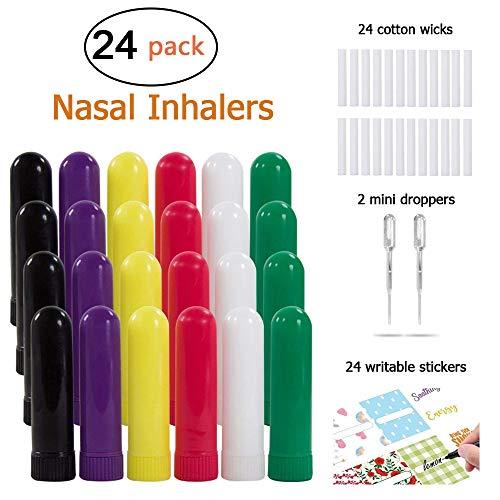 Tubos inhaladores nasales