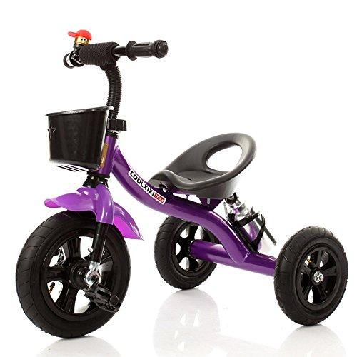 BLWX - Enfants Tricycle Landau bébé vélo bébé Jouet Voiture Poussette (Couleur : B)