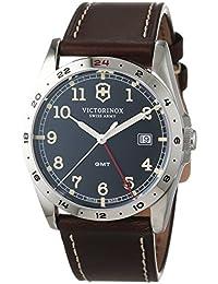 Victorinox Swiss Army Herren-Armbanduhr Analog Quarz Leder 241648