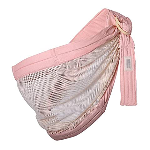 Babytrage Baby-Träger Breathable Hüft-Sitzträger Ergonomisches Design Tragbarer Multifunktions-Rucksackträger , Pink