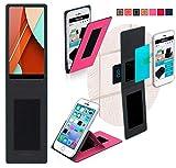 reboon Hülle für Bluboo D5 Pro Tasche Cover Case Bumper | Pink | Testsieger