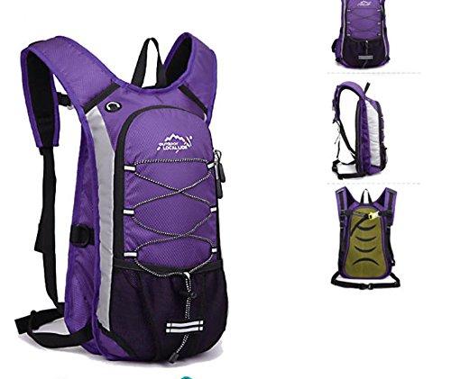 Borse da viaggio all aperto equitazione borsa zaino borsa portatile acqua tempo libero uomini e donne , light blue Purple