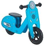 Classic World Kinder Laufrad Vespa aus Holz - Holzlaufrad - Lernrad Lauflernhilfe für Jungen und...