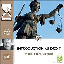 """Introduction au droit en 1 heure: Collection """"Que sais-je?"""""""