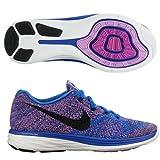Nike Damen Flyknit Lunar3 Lila Blau Damen Laufschuh 698182 405-40